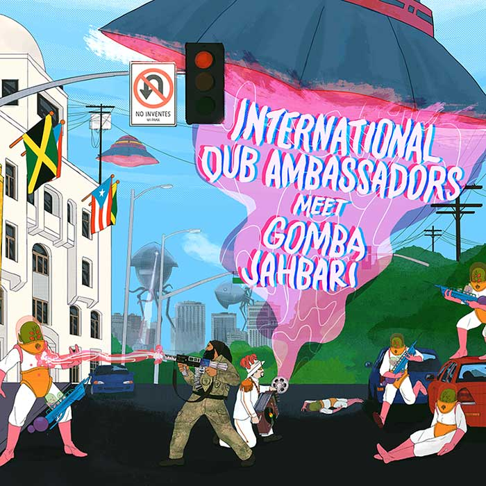 International Dub Ambassadors Meet Gomba Jahbari (2016)